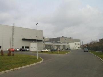 Výrobní haly Škoda Transportation 1